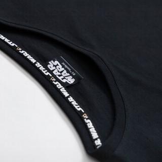 Semir 森马 19038001295 星球大战 男士短袖T恤 黑色 S