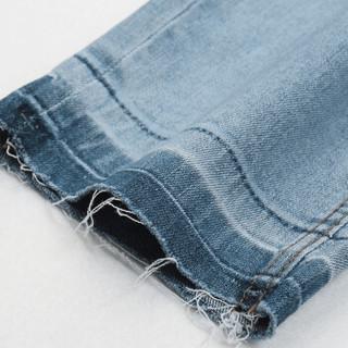 A21 4821020006 男士小脚牛仔裤 浅蓝 27