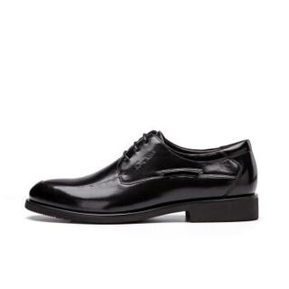 AOKANG 奥康 165211627 男士正装圆头皮鞋 黑色 42