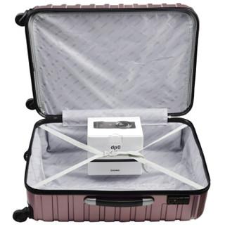 AMERICAN TOURISTER 美旅 BF9 商务大容量拉杆箱 哑光紫格色 26寸