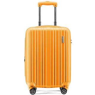 AMERICAN TOURISTER 美旅 79B 大容量万向轮拉杆箱 橘色 20寸