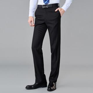 FIRS 杉杉 SNZK71019-8 男士修身西裤 黑色薄款 90