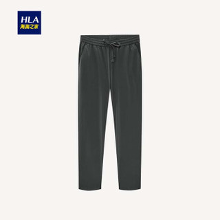 HLA 海澜之家 HKCAJ2E166A 男士直筒九分裤 深灰 29