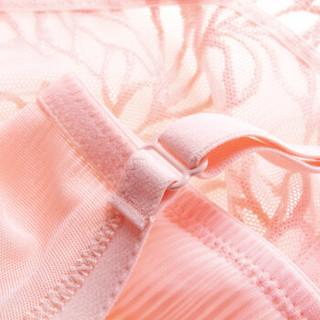 Aimer 爱慕 AM13HB1 女士全罩杯V型内衣 粉色 B85