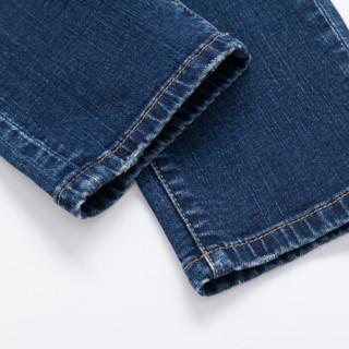 Semir 森马 19057241102 男士复古牛仔裤 牛仔深蓝 29