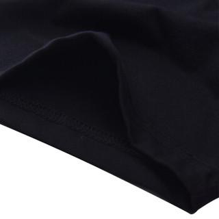 CARTELO 18172KE18020 男士圆领短袖t恤 黑色 XL