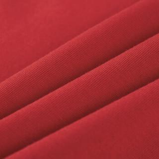 A21 4821330025 男士印花短袖T恤 大红 XL