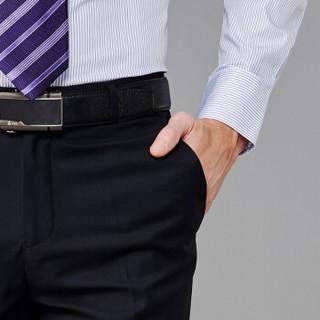 FIRS 杉杉 SNZK71019-5 男士修身西裤 藏青薄款 82