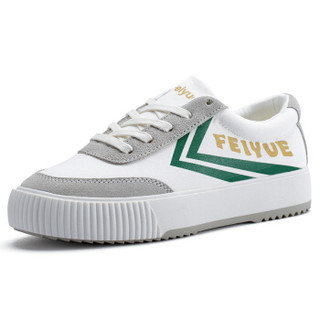 FEI YUE 飞跃 FY-8118 女士厚底休闲鞋 (37、白黄绿)