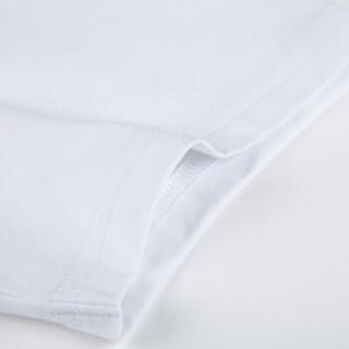 Semir 森马 12216001013 男士条纹短袖T恤 白蓝色调 S