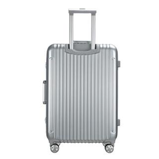 AMERICAN TOURISTER 美旅 BH4 铝框拉杆箱 银色 20寸