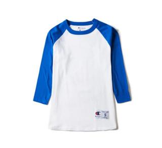 Champion Tagless 中性款七分袖T恤