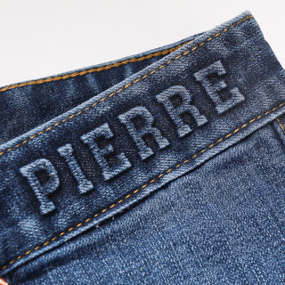 pierre cardin 皮尔·卡丹 0800-203810 男士直筒牛仔裤 蓝色 29