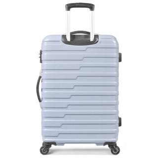 AMERICAN TOURISTER 美旅 BF9 商务大容量拉杆箱 浅蓝格纹 29寸