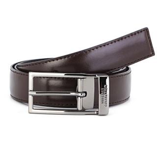 VERSACE 范思哲 V91225S VM00046 V239 男士牛皮针扣皮带 棕色 90