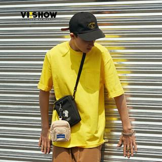 ViiSHOW TD1354182 男士短袖T恤 黄色 M
