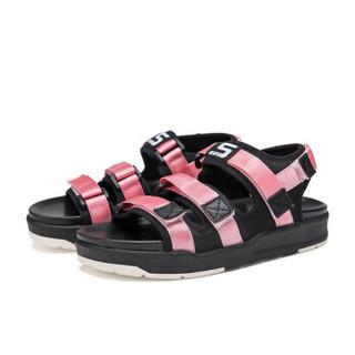 Semir 森马 528258703 女士沙滩凉鞋 粉色 38