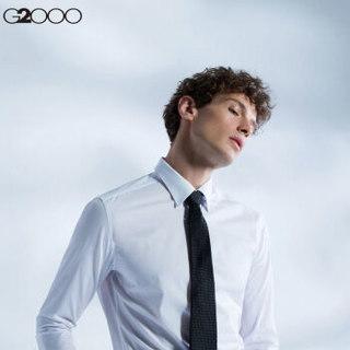 G2000 000402217910 男士长袖衬衫 (10/185、藏蓝/79)