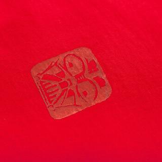 Semir 森马 19038001293 男士短袖T恤 红色调 M
