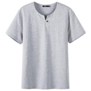 Semir 森马 19047001201 男士短袖T恤 中花灰 S