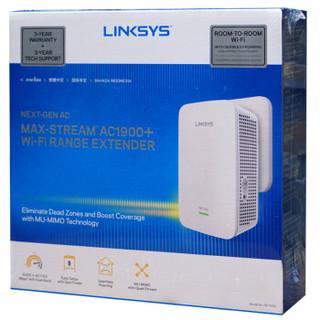 LINKSYS 领势 RE7000 AC1900 双频无线信号扩展器