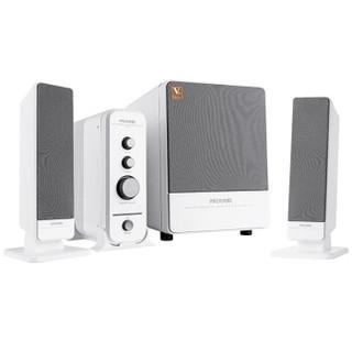 microlab 麦博 梵高系列 FC570 多媒体有源音箱 白色