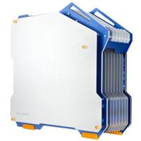 迎广(IN WIN)H-Frame 蓝色 开放式机箱(支持ATX主板/支持水冷/铝合金/侧透/USB3.0 *2+USB2.0*1/限量版 )