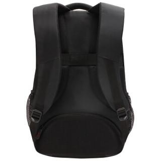 泰格斯(Targus) 商务休闲双肩包笔记本电脑包15.6英寸 学生书包双肩背包  黑色 TSB822