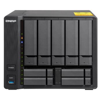 威联通(QNAP)TS-932X-8G 企业级 九盘位 网络存储服务器NAS磁盘阵列(无内置硬盘)