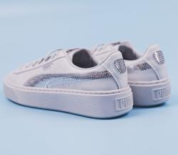 PUMA/彪马 Basket Platform Bling  女子休闲鞋