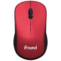 iFound 方正 W636 无线鼠标 红色 *2件