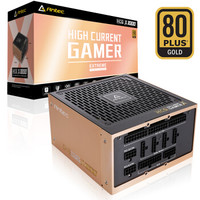 Antec 安钛克 HCG-X1000 高端金牌全模组 台式电脑机箱电源 1000W
