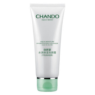 CHANDO 自然堂  水润保湿洗颜霜 100g