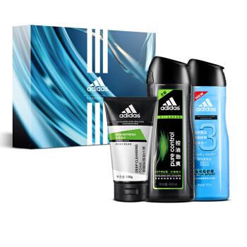 adidas 阿迪达斯 男士洗护三件套