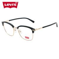 京东PLUS会员:Levi's 李维斯 近视眼镜架  LS04038ZB-C01 黑色 *4件
