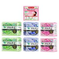花王乐而雅(laurier)S系列卫生巾彩盒6包特惠装(日用94片+夜用26片)日本进口 *2件