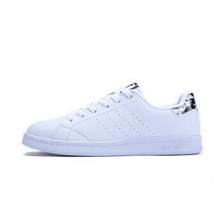 XTEP 特步 983218319266 女士板鞋 (白灰、37)