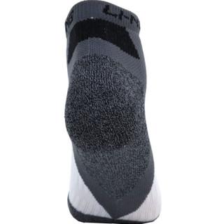 LI-NING 李宁 AWSL163-2 男士运动短袜 (白/深灰/黑、1双)