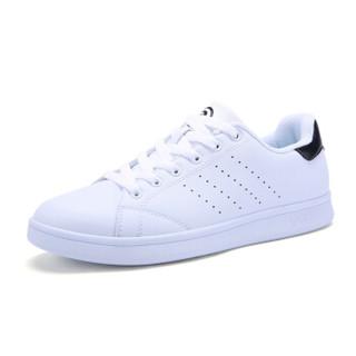 XTEP 特步 983218319266 女士板鞋 (白黑、37)