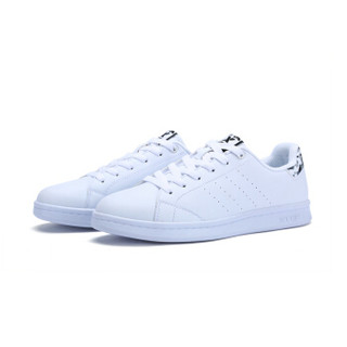 XTEP 特步 983218319266 女士板鞋 (白灰、35)