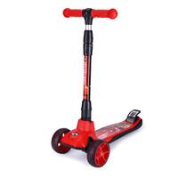 Disney 迪士尼 四轮全闪儿童滑板车 (红色汽车)