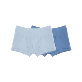 网易严选 男童有机棉平角内裤 2条装