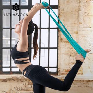 哈他专业瑜伽弹力带 男女力量训练阻力带拉伸运动拉力带用品健身伸展带 群青加长款