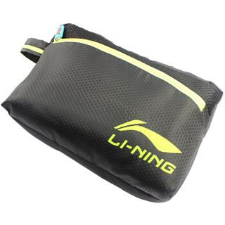 LI-NING 李宁 LSJK333 泳裤泳镜泳帽收纳包套装 黑 XXL