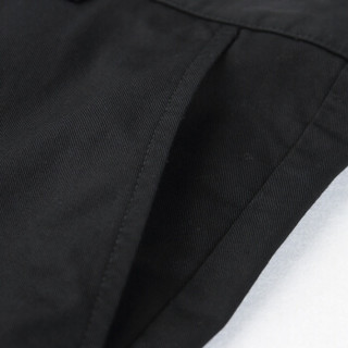 A21 4821044000 男士字母印花短裤 黑色 33