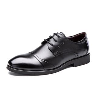 PLUS会员 : AOKANG 奥康 173211478 男士正装英伦尖头皮鞋