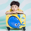 GNZA 银座 L-1505-1 儿童万向轮拉杆箱 黄色 18寸