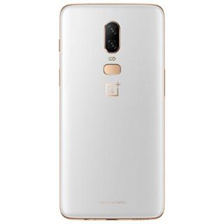 OnePlus 一加 一加6 智能手机 (128GB、8GB、月牙白、全网通、双卡双待)