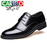 CARTELO 2513 男士增高正装皮鞋 黑色 41