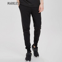 Markless CKA4849M 男士小脚休闲裤 黑色 180/XL